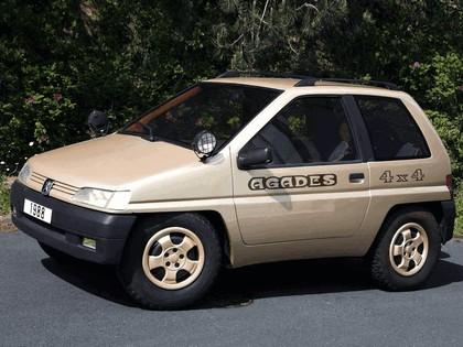 1989 Peugeot 4x4 Agades concept by Heuliez 1