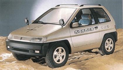 1989 Peugeot 4x4 Agades concept by Heuliez 4