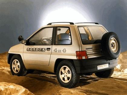 1989 Peugeot 4x4 Agades concept by Heuliez 5