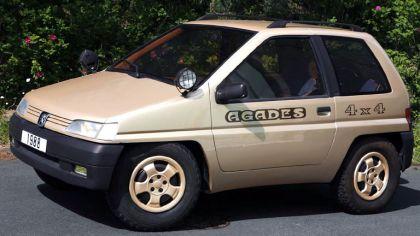 1989 Peugeot 4x4 Agades concept by Heuliez 3