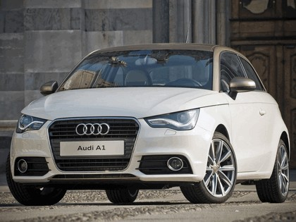 2011 Audi A1 Goldie by Aznom 3