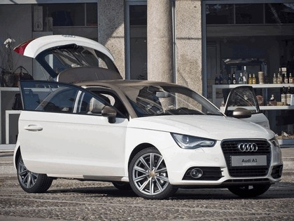 2011 Audi A1 Goldie by Aznom 10