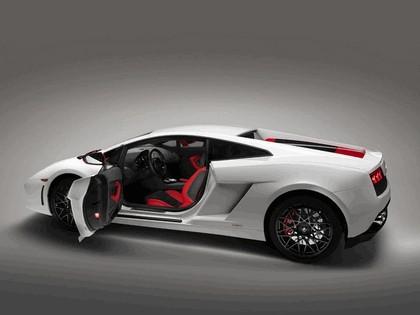 2012 Lamborghini Gallardo LP560-4 Bianco Rosso 3