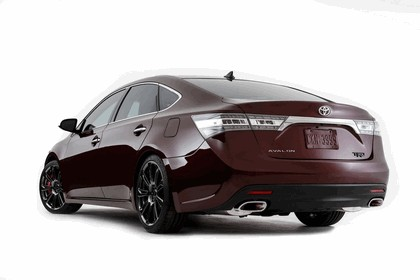 2012 Toyota Avalon Burgundy 2