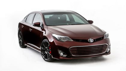 2012 Toyota Avalon Burgundy 4