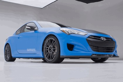 2012 Hyundai Genesis Coupé Racing Series concept by Cosworth Engineering 1