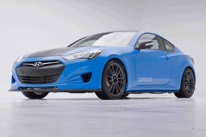 2012 Hyundai Genesis Coupé Racing Series concept by Cosworth Engineering 2