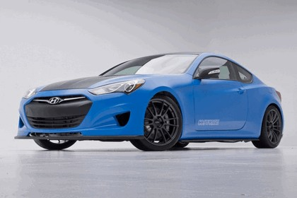 2012 Hyundai Genesis Coupé Racing Series concept by Cosworth Engineering 3