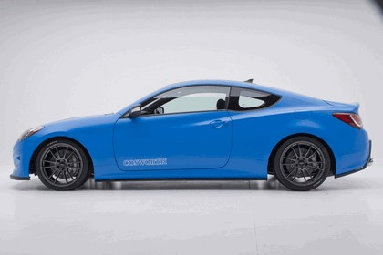 2012 Hyundai Genesis Coupé Racing Series concept by Cosworth Engineering 5