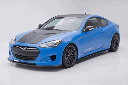 2012 Hyundai Genesis Coupé Racing Series concept by Cosworth Engineering 7