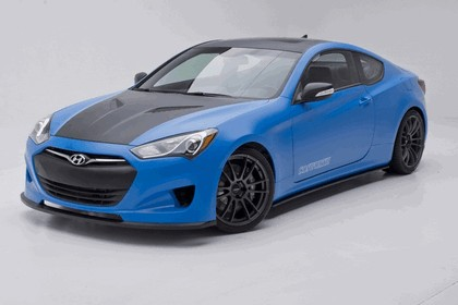 2012 Hyundai Genesis Coupé Racing Series concept by Cosworth Engineering 8