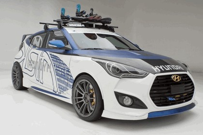 2012 Hyundai Veloster Alpine Edition by ARK Performance 1
