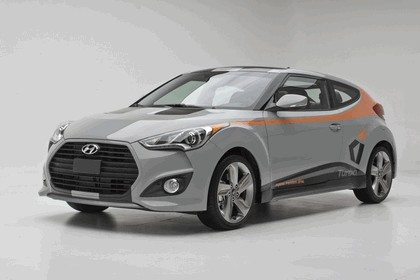 2012 Hyundai Veloster by Katzkin 1