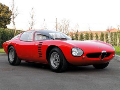 1964 Alfa Romeo TZ Canguro concept by Bertone 2