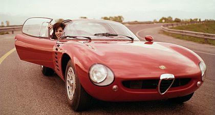 1964 Alfa Romeo TZ Canguro concept by Bertone 5