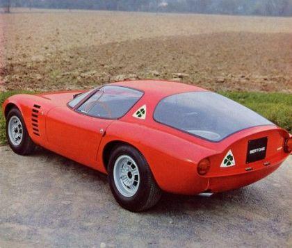 1964 Alfa Romeo TZ Canguro concept by Bertone 6
