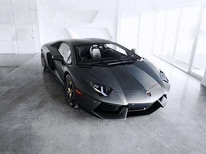 2012 Lamborghini Aventador LP700-4 Nero Nemesis by SR Auto 1
