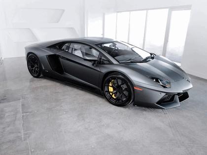 2012 Lamborghini Aventador LP700-4 Nero Nemesis by SR Auto 2