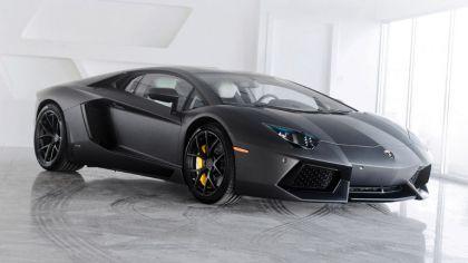 2012 Lamborghini Aventador LP700-4 Nero Nemesis by SR Auto 8