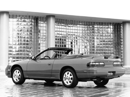 1992 Nissan 240SX convertible 3