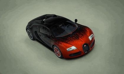 2012 Bugatti Veyron 16.4 Grand Sport by Bernar Venet 4