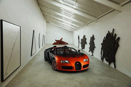2012 Bugatti Veyron 16.4 Grand Sport by Bernar Venet 10