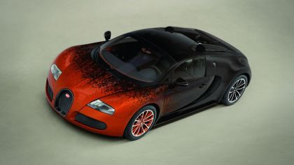 2012 Bugatti Veyron 16.4 Grand Sport by Bernar Venet 3
