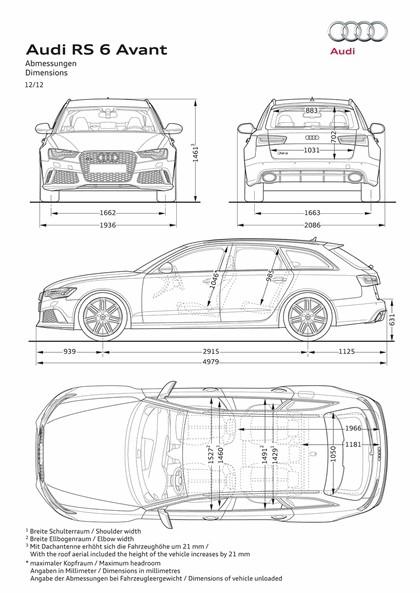 2013 Audi RS6 Avant 14