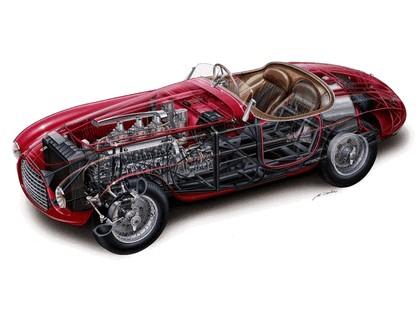 1948 Ferrari 166 MM Touring Barchetta 11