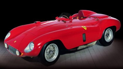 1955 Ferrari 121 LM Scaglietti spider 6