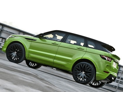 2012 Land Rover Range Rover Evoque RS250 Limes Green by Project Kahn 2