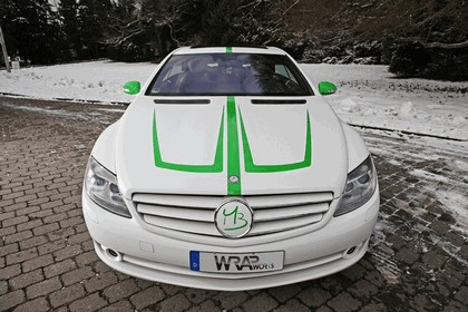 2013 Mercedes-Benz CL500 ( C216 ) by WRAPworks 4