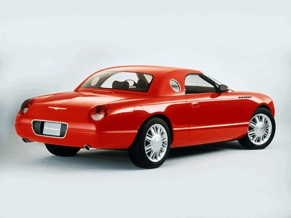 2001 Ford Thunderbird sports roadster concept 4