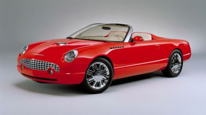 2001 Ford Thunderbird sports roadster concept 3
