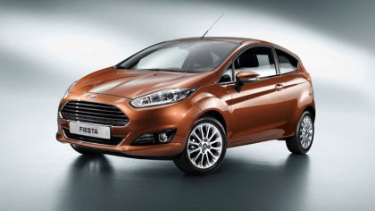 2013 Ford Fiesta 3-door - EU version 5