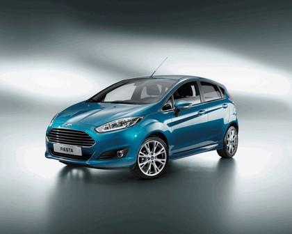 2013 Ford Fiesta 5-door - EU version 1