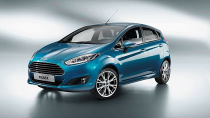 2013 Ford Fiesta 5-door - EU version 9