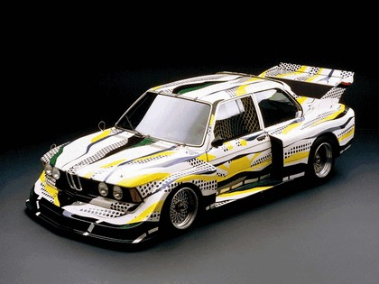 1977 BMW 320i ( E21 ) Turbo Group 5 Art Car by Roy Lichtenstein 4