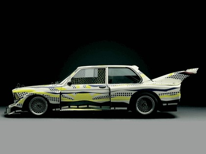 1977 BMW 320i ( E21 ) Turbo Group 5 Art Car by Roy Lichtenstein 5