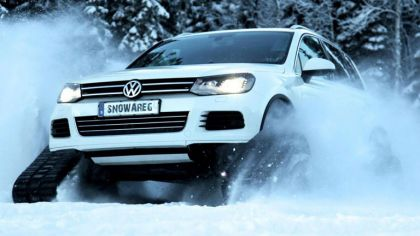 2012 Volkswagen Snowareg ( based on Volkswagen Touareg V8 TDI ) 1