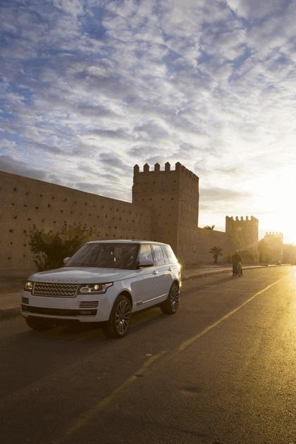 2013 Land Rover Range Rover - Morocco 100