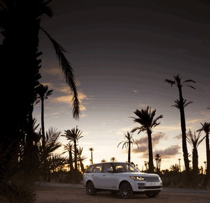 2013 Land Rover Range Rover - Morocco 110