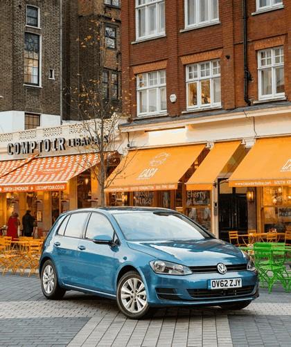 2012 Volkswagen Golf ( VII ) TDI BlueMotion - UK version 7