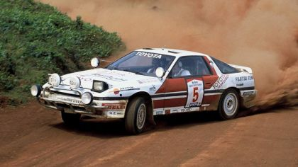 1987 Toyota Supra Liftback ( A70 ) Safari rally 5