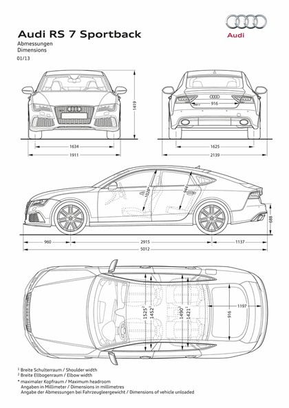 2013 Audi RS7 Sportback 6