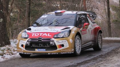 2013 Citroen DS3 WRC - Monte Carlo 1