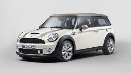 2013 Mini Clubman Cooper S Bond Street - white 2