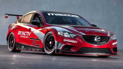 2013 Mazda 6 Skyactiv-D race car 6