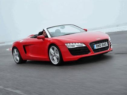 2013 Audi R8 spyder - UK version 2