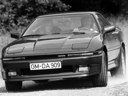 1986 Toyota Supra ( MA70 ) liftback - Europe version 1